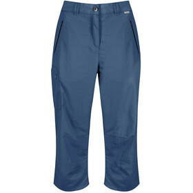 Regatta Chaska Capri Dames, dark denim